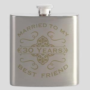 Married My Best Friend 30th Flask