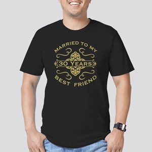 Married My Best Friend Men's Fitted T-Shirt (dark)