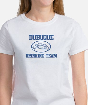 DUBUQUE drinking team Women's T-Shirt