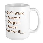 No Whining Large Mug