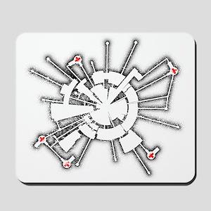 Grunge Alpha Base Mousepad
