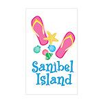 Sanibel Island - Rectangle Sticker