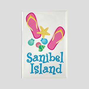 Sanibel Island - Rectangle Magnet