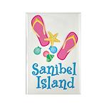 Sanibel Island - Rectangle Magnet (100 pack)