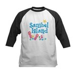 Sanibel Island - Kids Baseball Jersey
