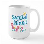 Sanibel Island - Large Mug