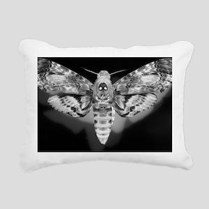 Moth Rectangular Canvas Pillow