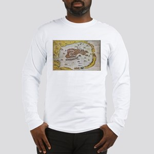Vintage Map of Venice (1649) Long Sleeve T-Shirt