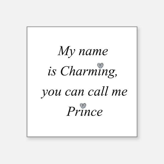 Call me Charming Sticker