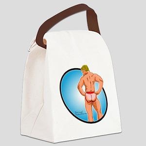 jockbutt Canvas Lunch Bag