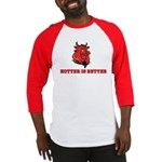 Red Pig Baseball Jersey