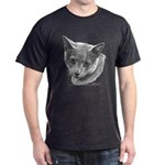 Russian Blue Cat Dark T-Shirt