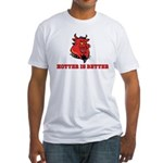 Red Pig Fitted T-Shirt