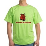Red Pig Green T-Shirt