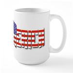 Merica Large Mug Mugs