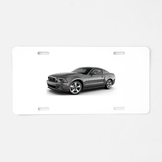 14MustangGT Aluminum License Plate