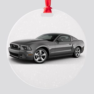 14MustangGT Round Ornament