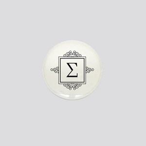 Sigma Greek monogram Mini Button