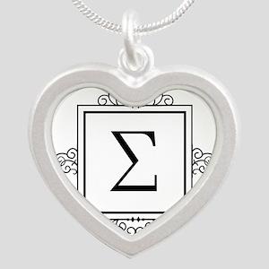 Sigma Greek monogram Necklaces