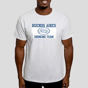 BUENOS AIRES drinking team Light T-Shirt
