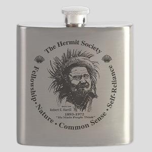 Hermit Society Flask