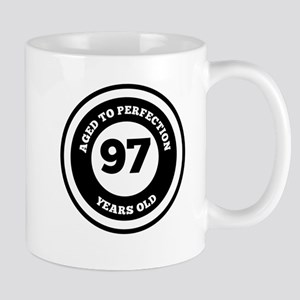 Aged To Perfection 97 Years Old Mugs