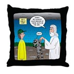 KNOTS Ark Throw Pillow