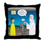 KNOTS Ark Throw Pillow