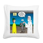 KNOTS Ark Square Canvas Pillow