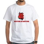 Red Pig White T-Shirt