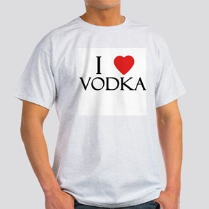 I Love Vodka Light T-Shirt