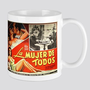 Mexican Movie Poster Mug
