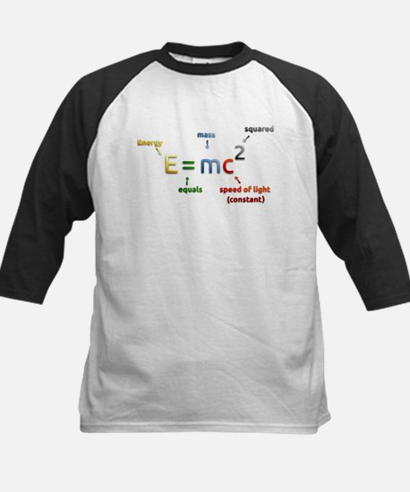 Einstein's Energy Mass Conversion Baseball Jersey