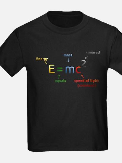 Einstein's Energy Mass Conversion Formula T-Shirt
