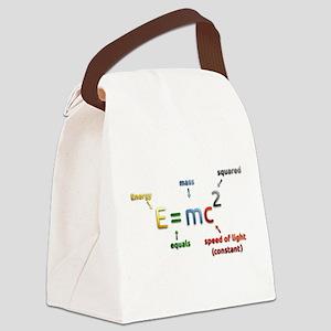 Mass-Energy_Equivalence_Formula Canvas Lunch Bag