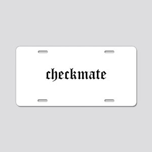 Checkmate Aluminum License Plate