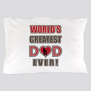 World's Greatest Dad Fishing Pillow Case