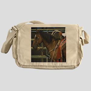 Rodeo Horse Messenger Bag