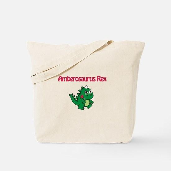 Amberosaurus Rex Tote Bag