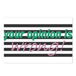 Opinion Postcards (Package of 8)