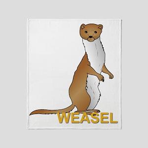 Weasel Throw Blanket