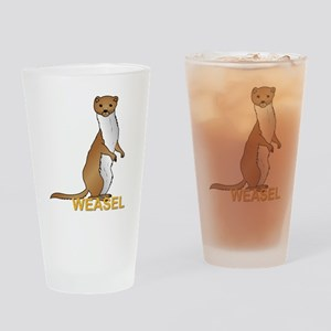 Weasel Drinking Glass