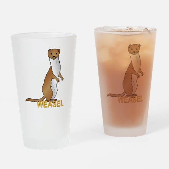 Weasel Drinking Glass