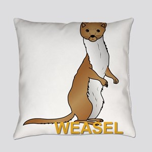 Weasel Everyday Pillow