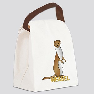 Weasel Canvas Lunch Bag