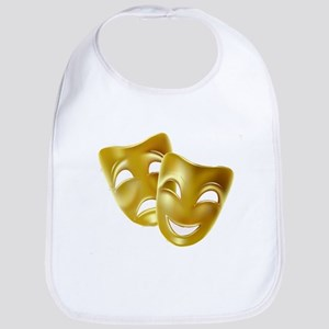 Masks of Comedy and Tragedy Bib