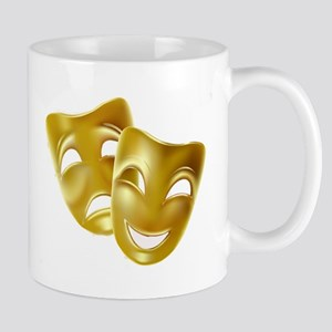 Masks of Comedy and Tragedy Mug
