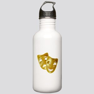 Masks of Comedy and Tr Stainless Water Bottle 1.0L