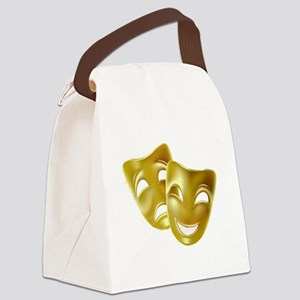 Masks of Comedy and Tragedy Canvas Lunch Bag