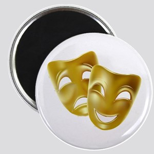 Masks of Comedy and Tragedy Magnet